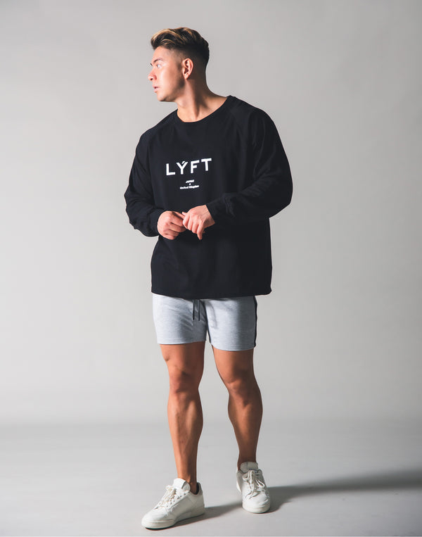 LYFT  Logo Long T-shirt - Black