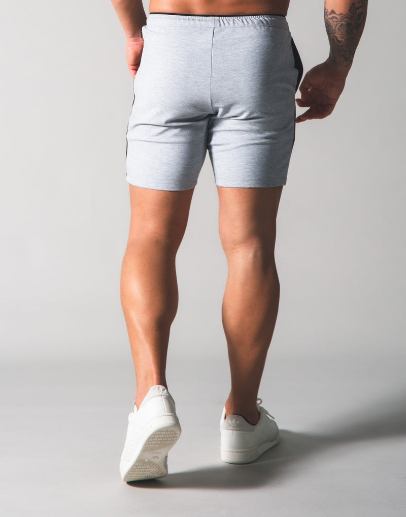 One Line Half Pants - Grey