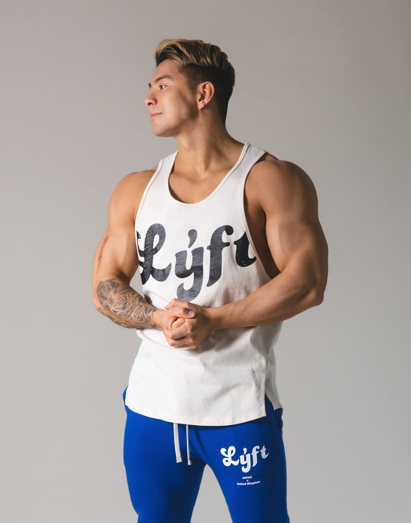 LÝFT Old logo Tanktop - Off White