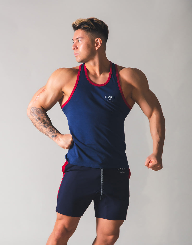 LYFT Point Logo Standard Tanktop - Navy