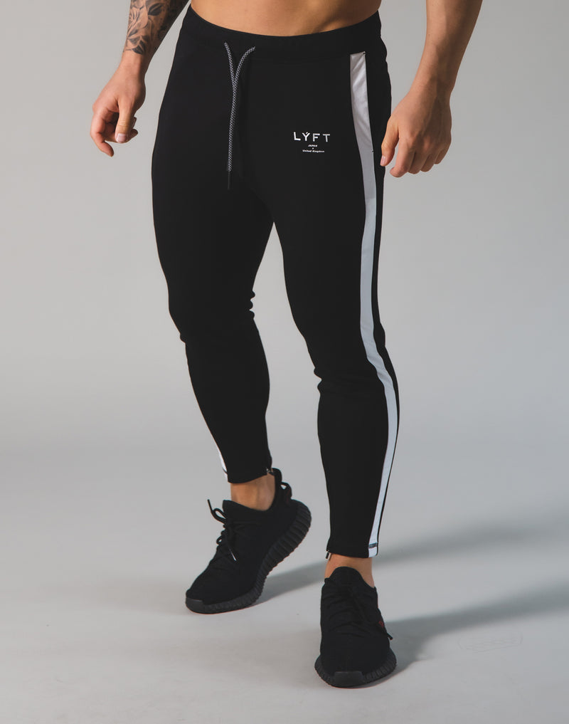 2Way Stretch One Line pants 2 - Black