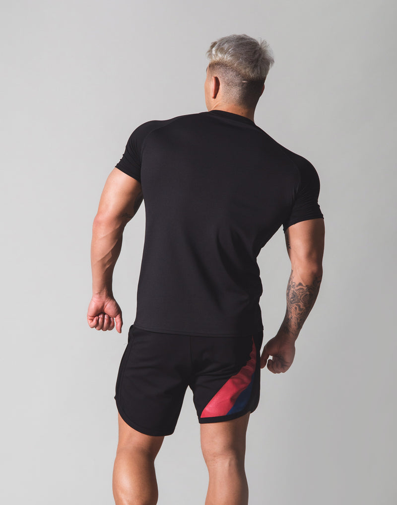 Combi Mesh Training T-Shirt v2 - Black