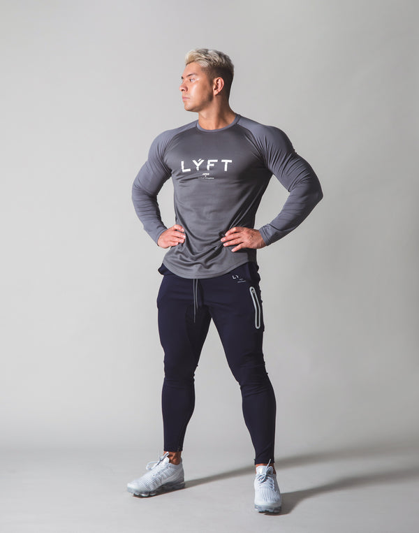 Combi Mesh Training Long Sleeve v2 - Grey