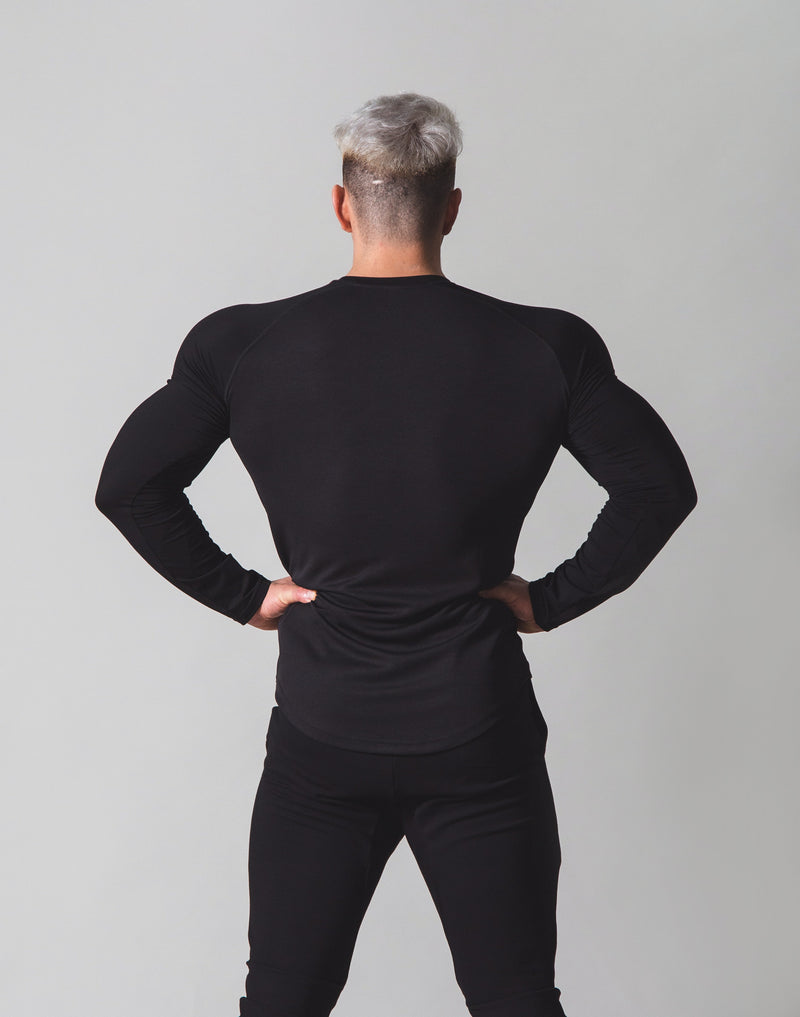 Combi Mesh Training Long Sleeve v2 - Black