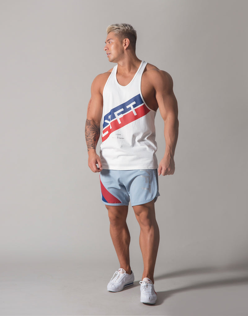 Stripe Training Tanktop v2 - White