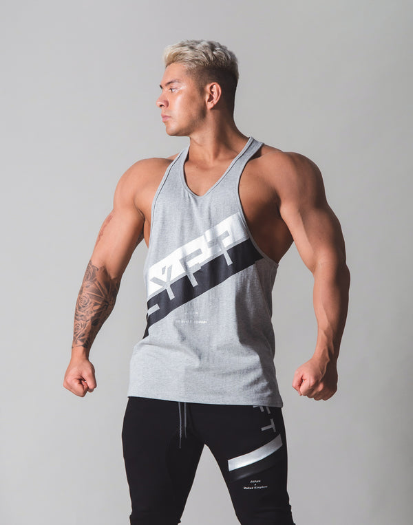 Stripe Training Tanktop v2 - Grey