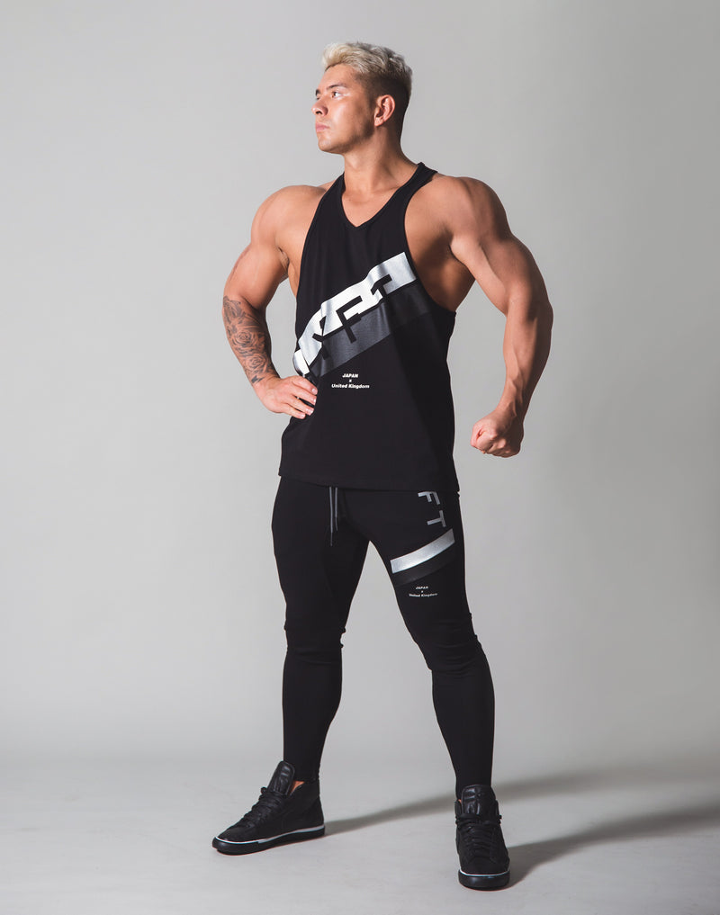 Stripe Training Tanktop v2 - Black