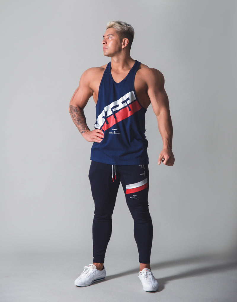 Stripe Training Tanktop v2 - Navy