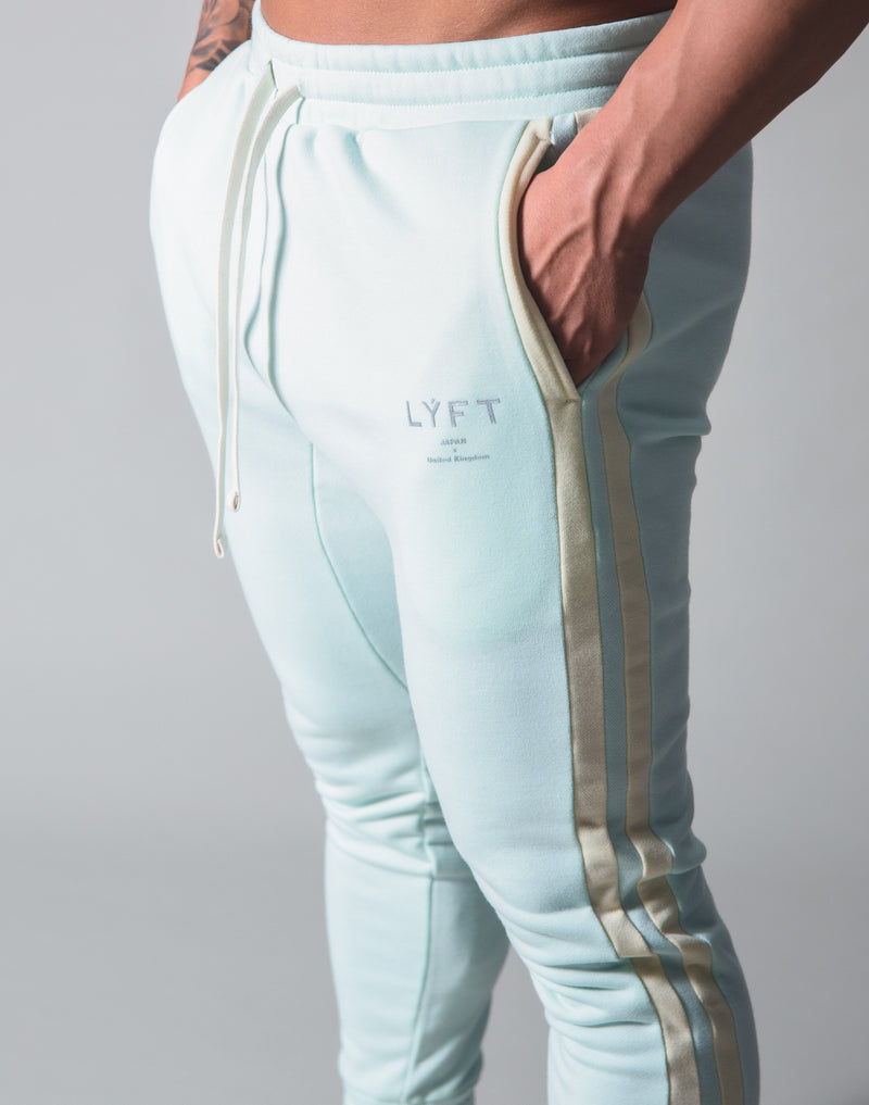 LÝFT 2 Line Sweat Pants - Mint