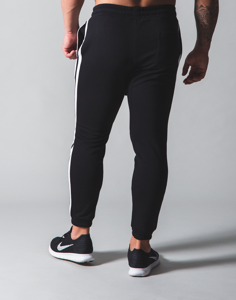 LÝFT 2 Line Sweat Pants - Black