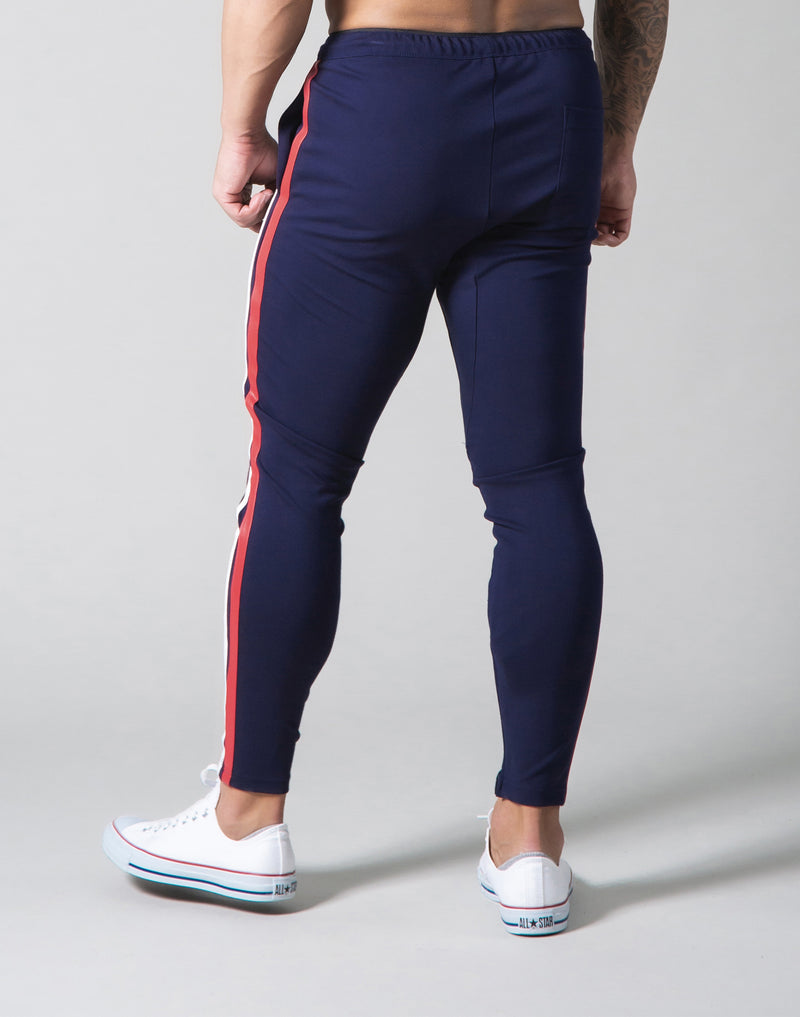 2Way Stretch 2 Line Pants - Navy