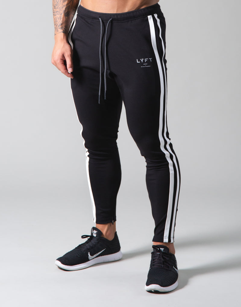 2Way Stretch 2 Line Pants - Black