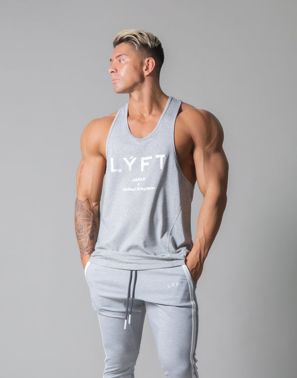 Standard Logo Training Tanktop - Grey