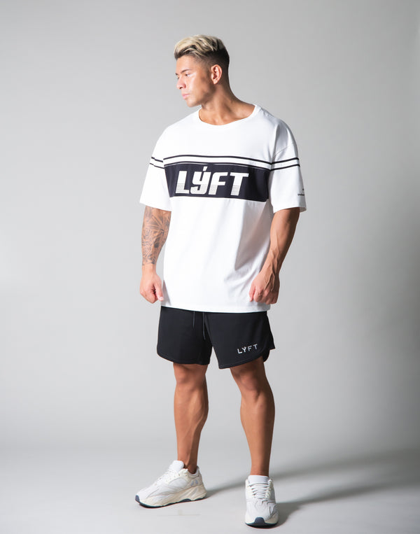Separate Line Big T-shirts - White