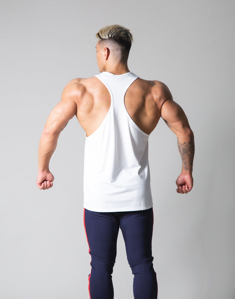 Standard Logo Training Tanktop - White