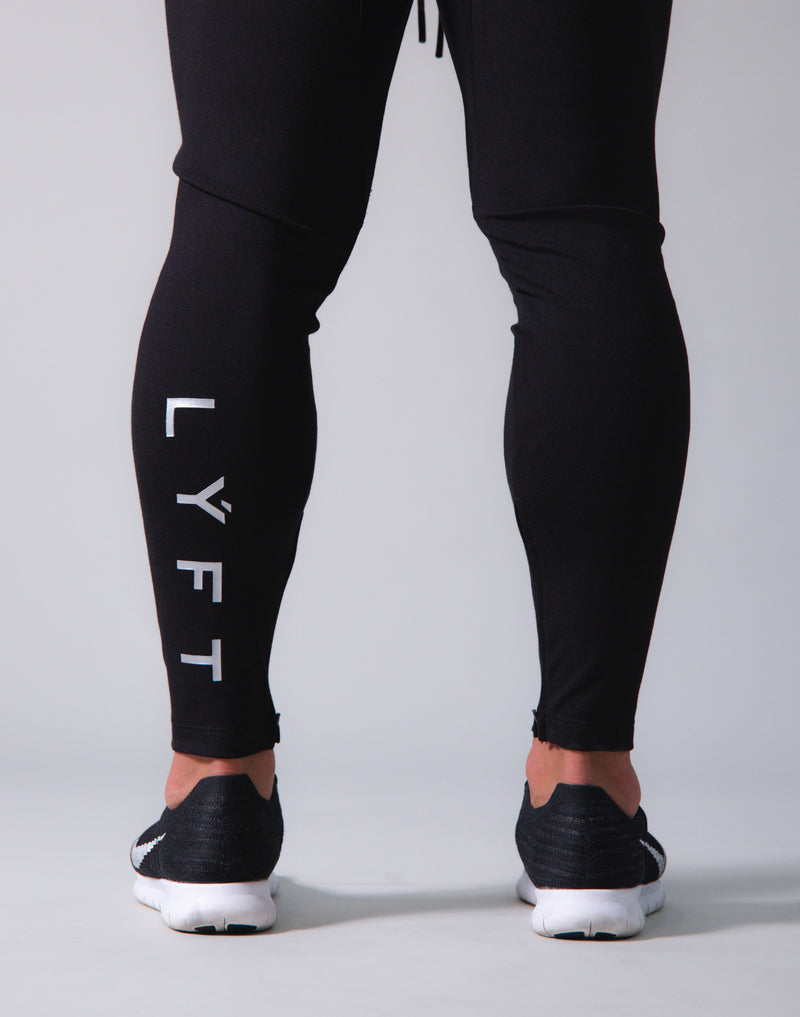 Calf LÝFT Pants ver.2 - Black