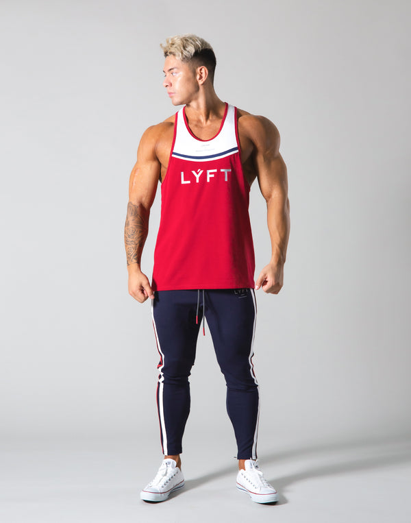 Round Separate Training Tanktop - Red