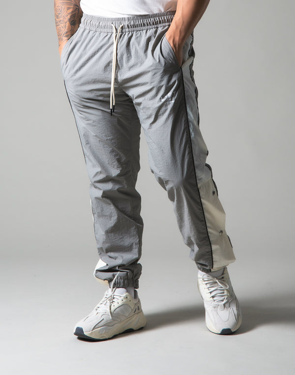 Warm Up Nylon Pants - Grey