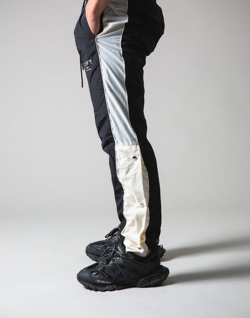 Warm Up Nylon Pants - Black