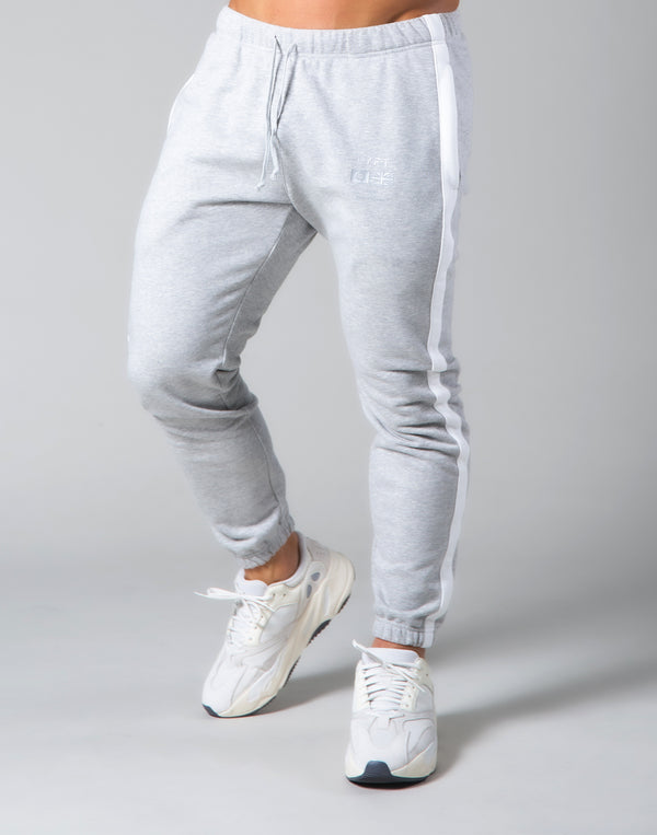One Line Sweat Pants - Grey