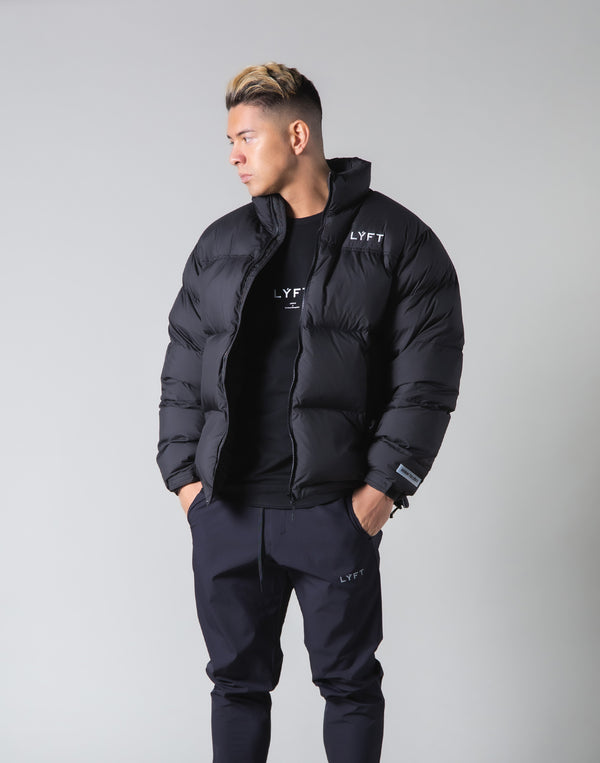 LÝFT Genuine Down Jacket - 90:10 - Black