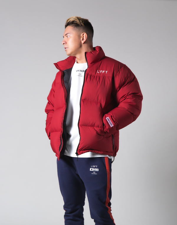 LÝFT Genuine Down Jacket - 90:10 - Red