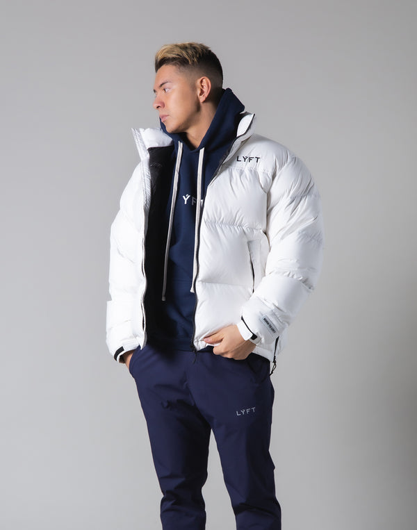 LÝFT Genuine Down Jacket - 90:10 - White