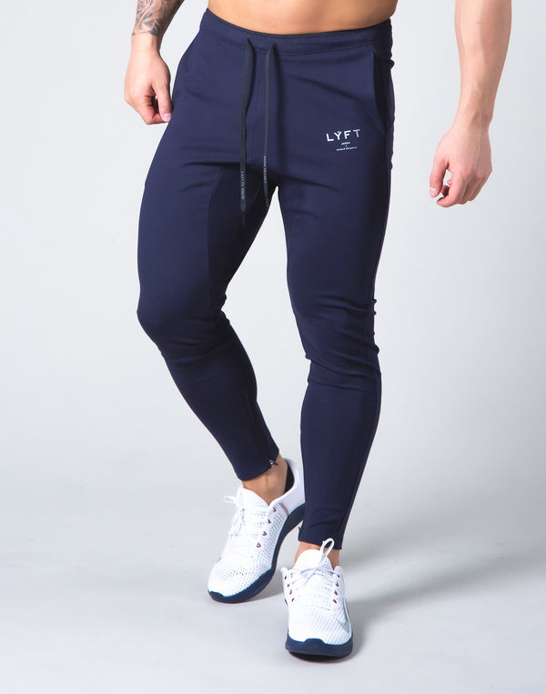 2way Stretch Logo String Pants - Navy