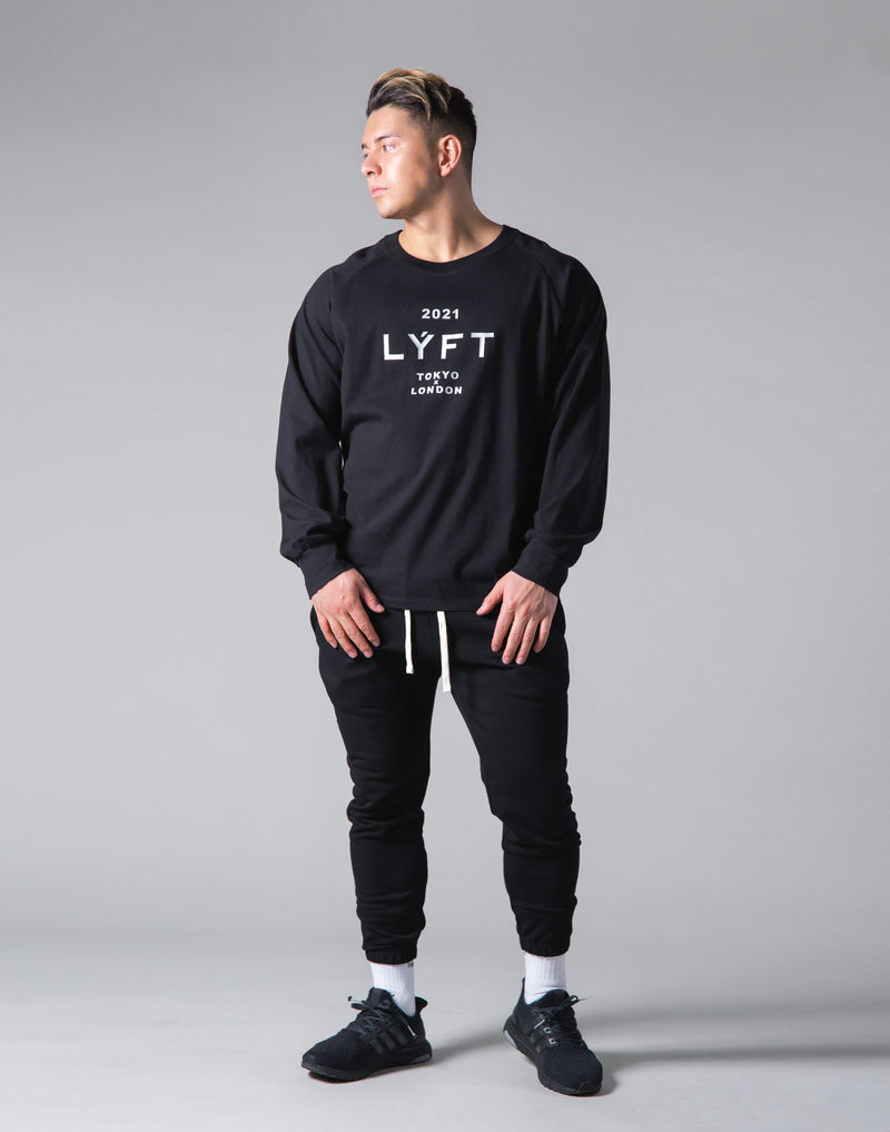 2021 Limited Logo Long Sleeve T-Shirt - Black