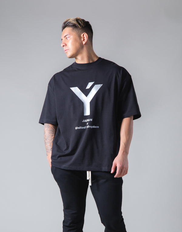 "Big Y Logo Big T-Sirt ""Wide Body"" - Black"