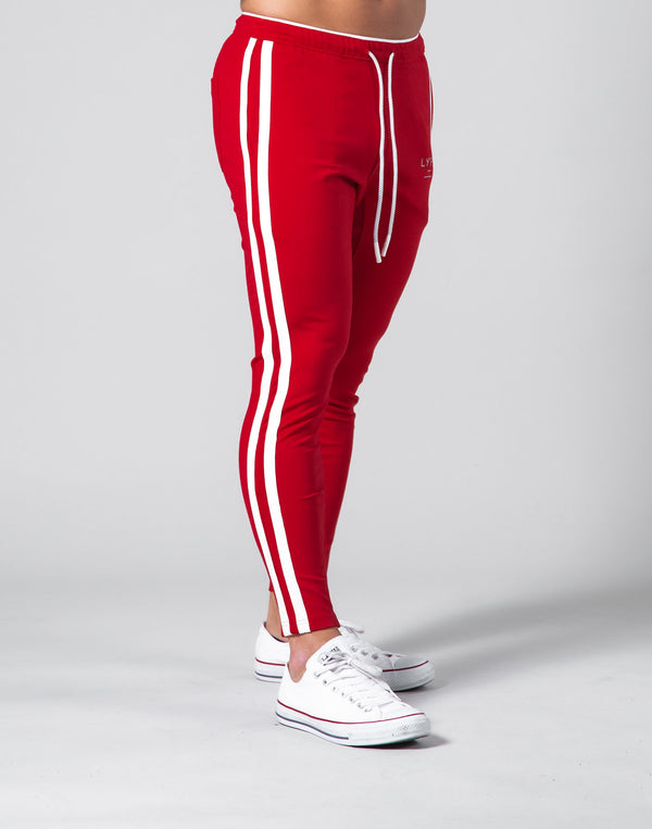 2Way Stretch 2 Line Pants - Red