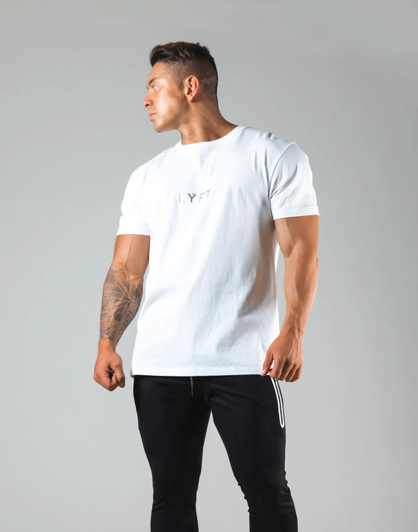 LÝFT Flag Standard T-Shirt - White