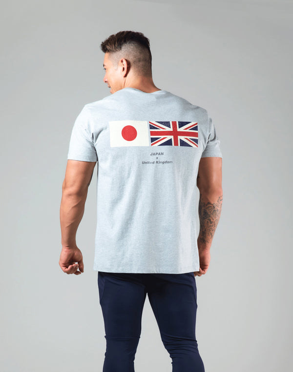 LÝFT Flag Standard T-Shirt - Grey