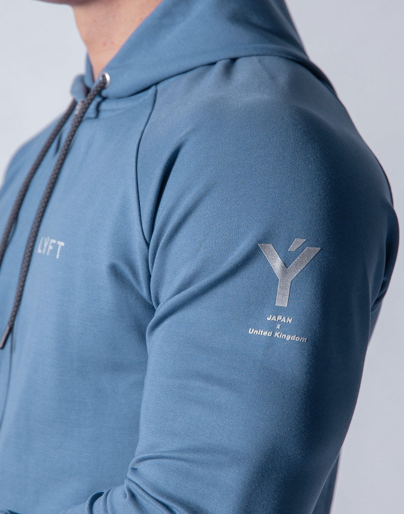 Ý 2way Workout Zip up Wear - L.Blue