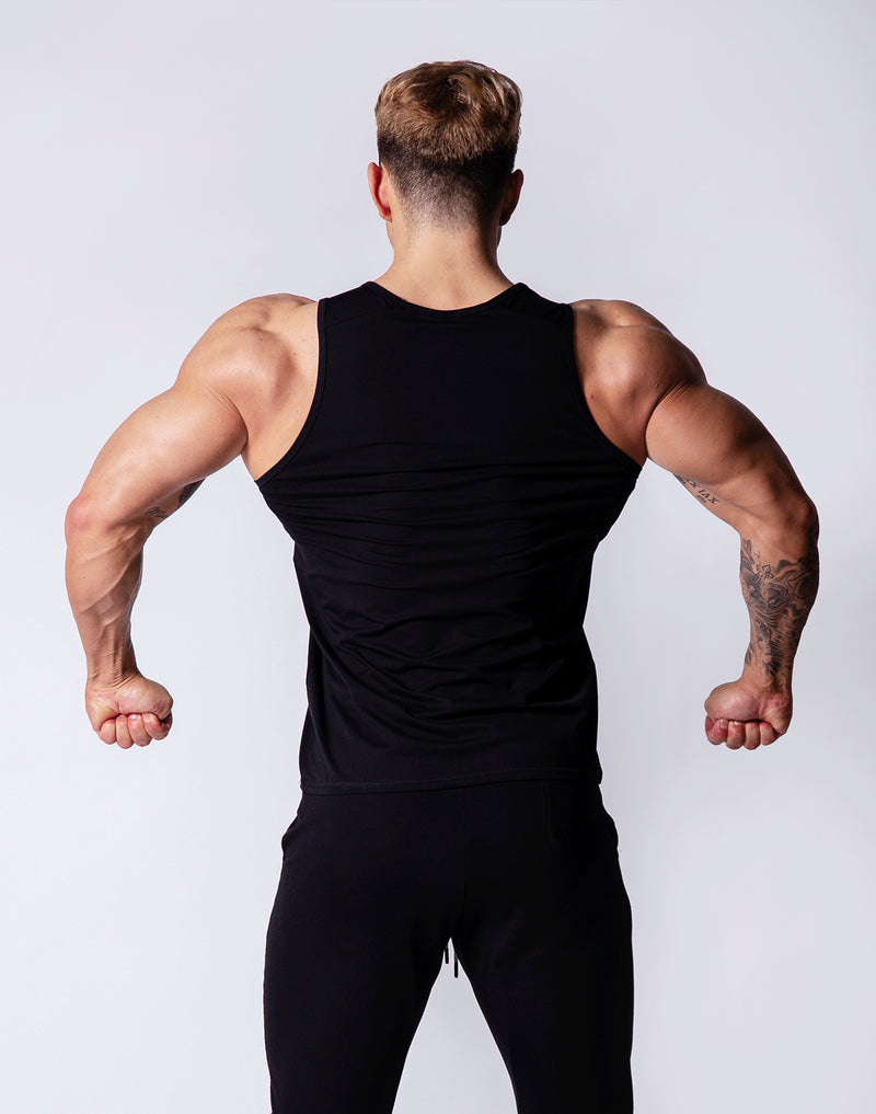 Sportec Standard Fit Tanktop / Black /White