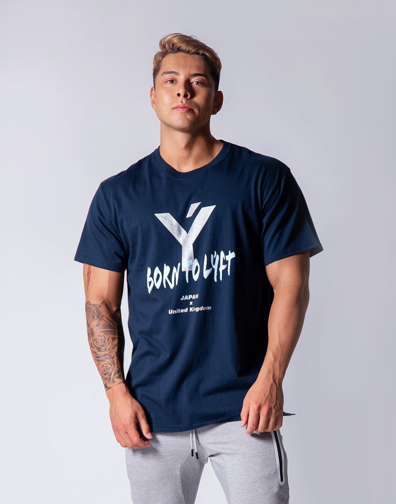 Sportec Big Size T-Shirts - White / Navy / Black