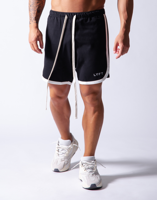 LÝFT  Wide Shorts - Black