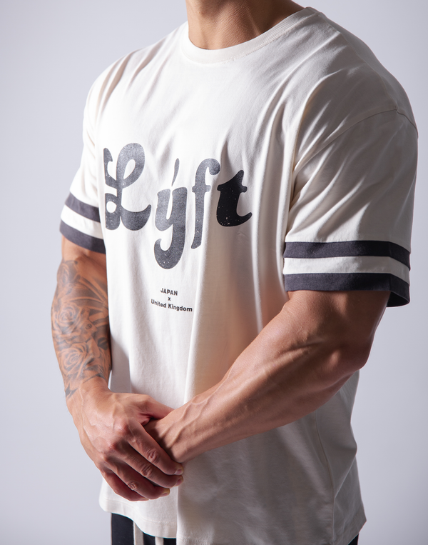 LÝFT Wash Big T-Shirt - White