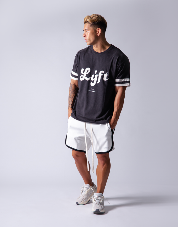 LÝFT Wash Big T-Shirt - Black