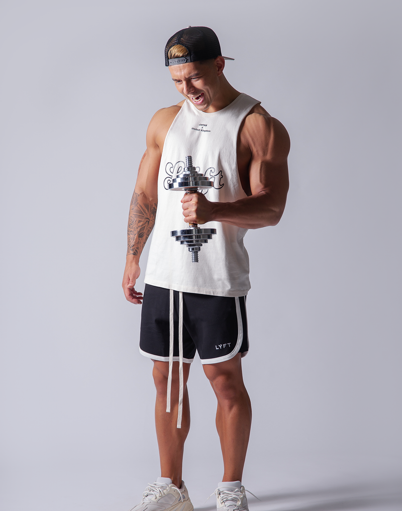 LÝFT Wash Tanktop - White