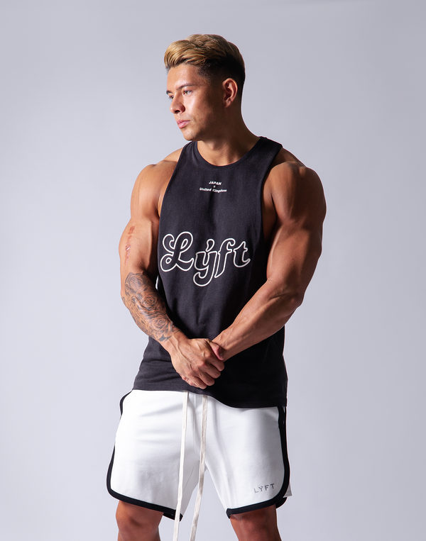 LÝFT Wash Tanktop - Black