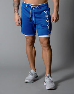 LÝFT Strong Shorts with leggings - Blue
