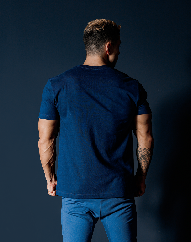 Two-Tone LÝFT Standard T-Shirt - Navy