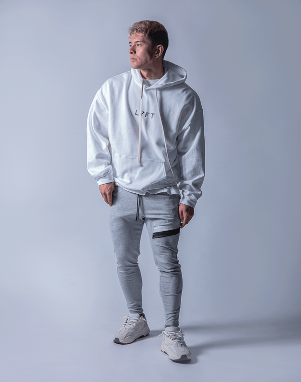 LÝFT Flag Sweat Pullover - White