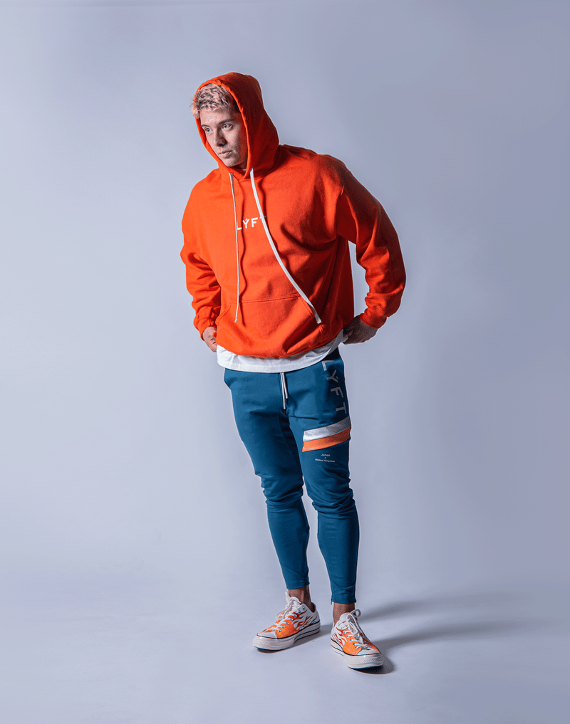 LÝFT Flag Sweat Pullover - Orange