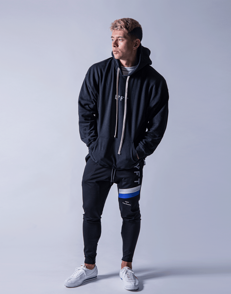 LÝFT Flag Sweat Pullover - Black
