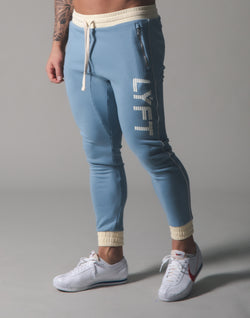 Piping Sweat Pants - L.Blue