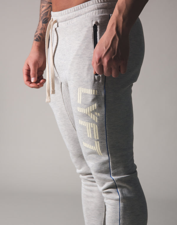 Piping Sweat Pants - Grey