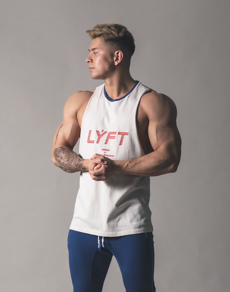 Drop Shoulder Tanktop - Off White