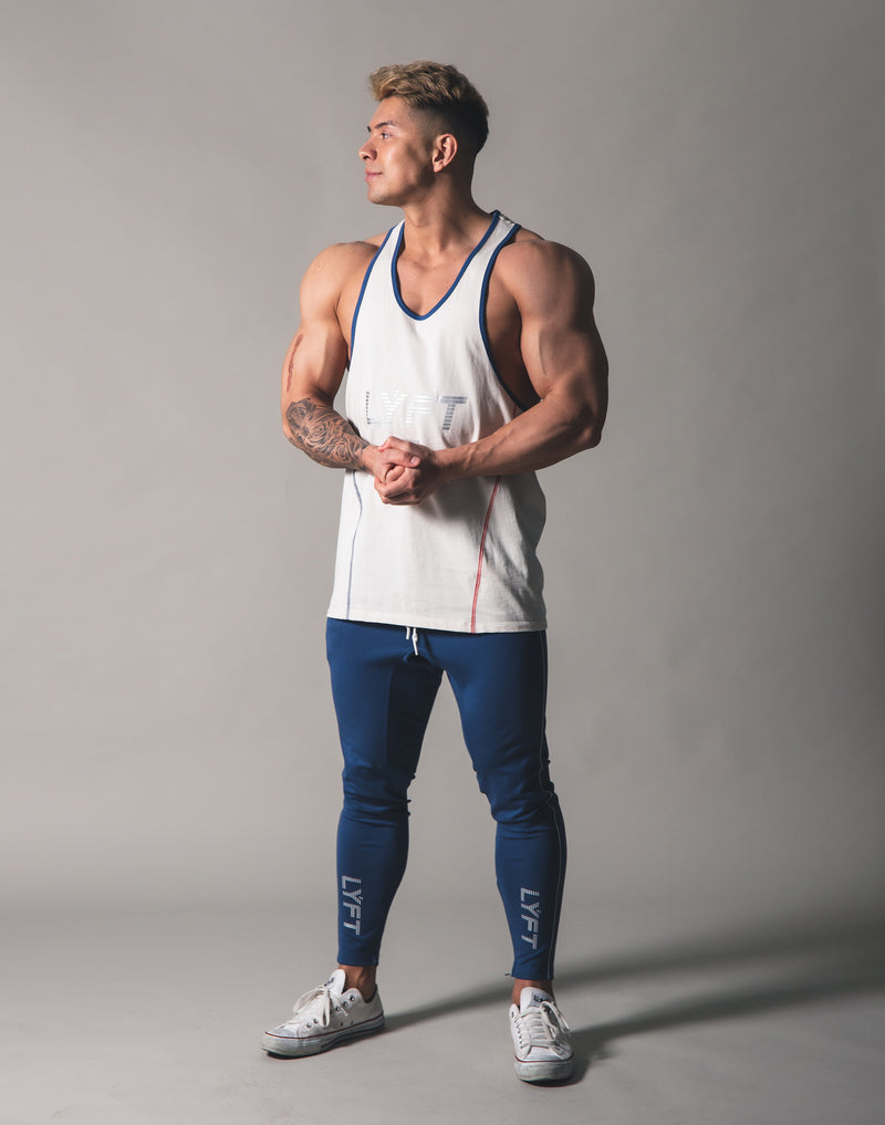 Piping Training Tanktop - Off White